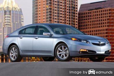 Insurance rates Acura TL in Pittsburgh