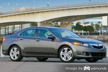 Insurance rates Acura TSX in Pittsburgh