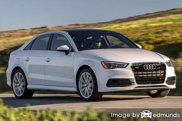 Insurance rates Audi A3 in Pittsburgh