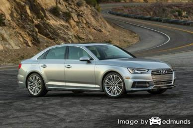 Insurance quote for Audi A4 in Pittsburgh