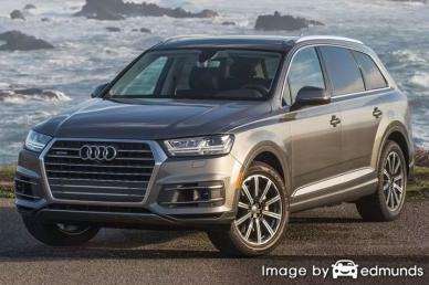 Insurance quote for Audi Q7 in Pittsburgh