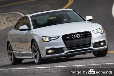 Insurance quote for Audi S5 in Pittsburgh