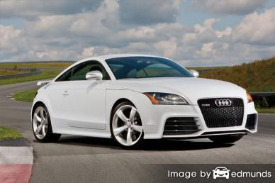 Insurance quote for Audi TT RS in Pittsburgh