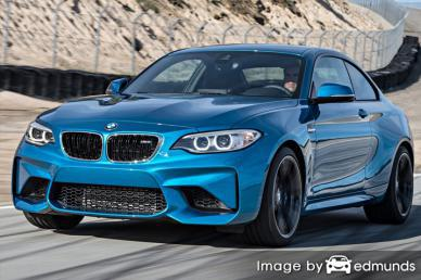 Insurance quote for BMW M2 in Pittsburgh