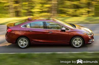 Insurance rates Chevy Cruze in Pittsburgh