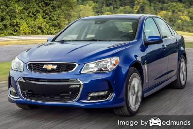 Insurance rates Chevy SS in Pittsburgh
