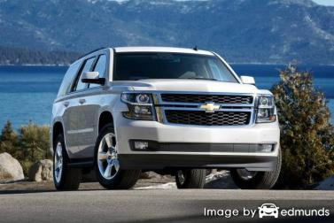 Insurance rates Chevy Tahoe in Pittsburgh