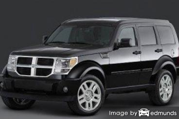 Insurance rates Dodge Nitro in Pittsburgh