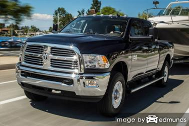 Insurance rates Dodge Ram 3500 in Pittsburgh