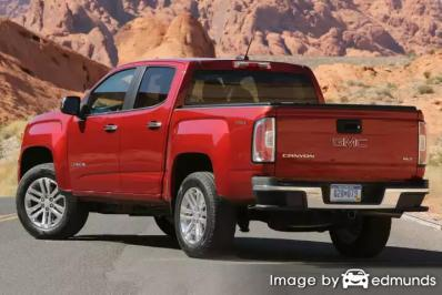 Insurance rates GMC Canyon in Pittsburgh