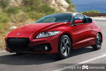 Insurance quote for Honda CR-Z in Pittsburgh