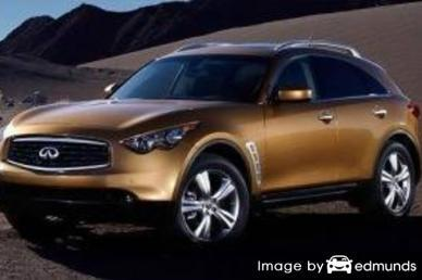 Insurance quote for Infiniti FX35 in Pittsburgh