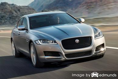 Insurance rates Jaguar XF in Pittsburgh