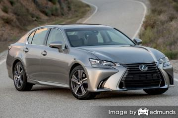 Insurance quote for Lexus GS 200t in Pittsburgh