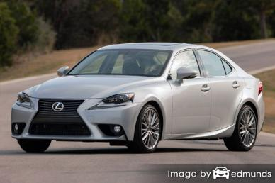 Insurance rates Lexus IS 250 in Pittsburgh