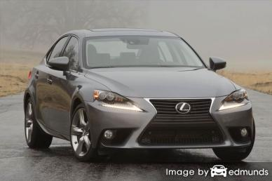 Insurance rates Lexus IS 350 in Pittsburgh