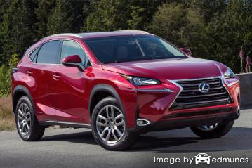 Insurance rates Lexus NX 300h in Pittsburgh