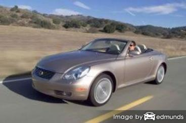 Insurance quote for Lexus SC 430 in Pittsburgh