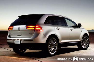 Insurance rates Lincoln MKX in Pittsburgh