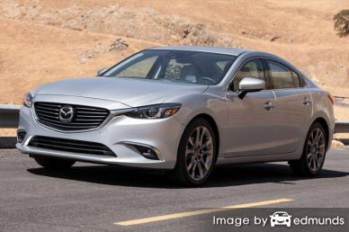 Insurance rates Mazda 6 in Pittsburgh