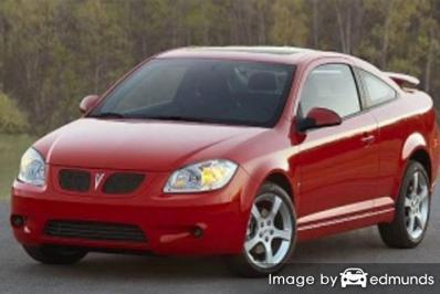 Insurance rates Pontiac G5 in Pittsburgh