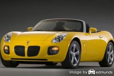 Insurance rates Pontiac Solstice in Pittsburgh
