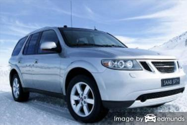 Insurance quote for Saab 9-7X in Pittsburgh