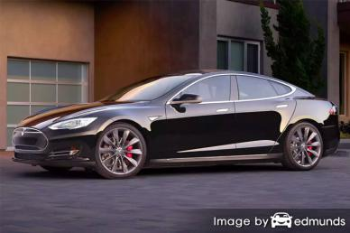 Insurance rates Tesla Model S in Pittsburgh