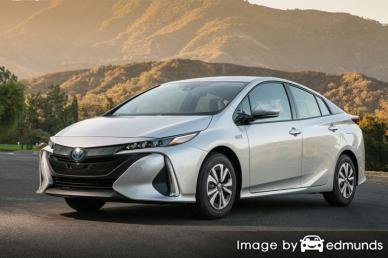 Insurance quote for Toyota Prius Prime in Pittsburgh