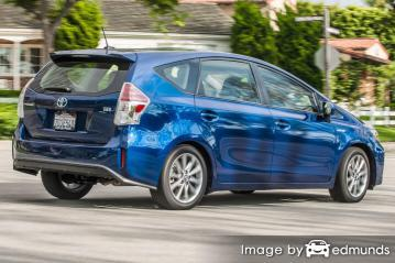 Insurance rates Toyota Prius V in Pittsburgh