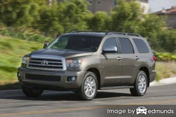 Insurance rates Toyota Sequoia in Pittsburgh