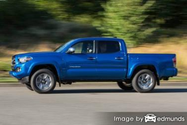 Insurance quote for Toyota Tacoma in Pittsburgh