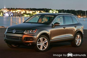 Insurance rates Volkswagen Touareg in Pittsburgh
