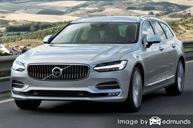 Insurance rates Volvo V90 in Pittsburgh